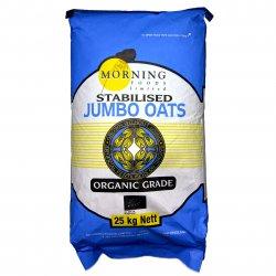 Organic Jumbo Oats 25Kg [PreOrder]