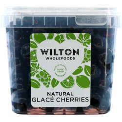 Natural Colour Glace Cherries 1Kg