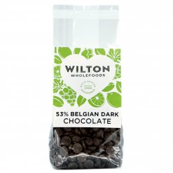 53% Belgian Dark Chocolate 250g
