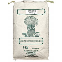 Organic Strong White Flour 8Kg