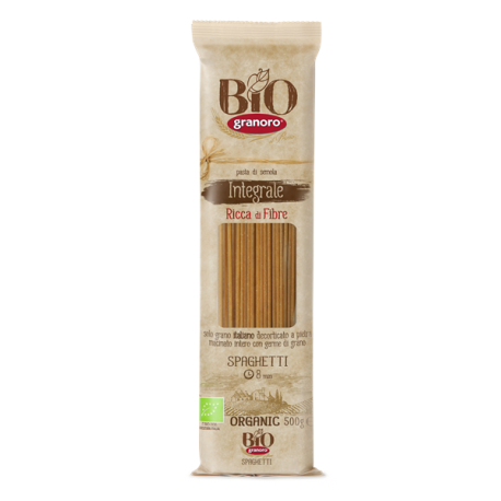 Organic Wholewheat Spaghetti 500g