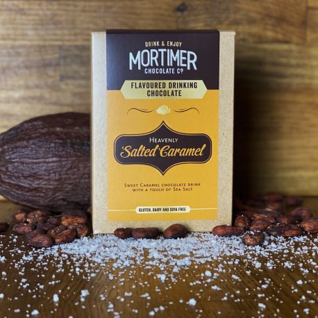 Salted Caramel Flavour Drinking Chocolate 250g