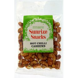 Hot Chilli Cashews 80g