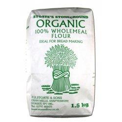 100% Wholemeal Organic Bread Flour 1.5Kg