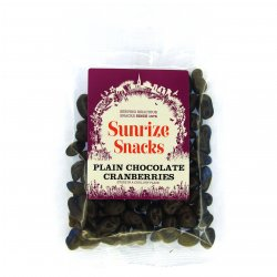 Plain Chocolate Cranberries 110g