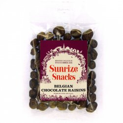 Belgian Chocolate Raisins 150g
